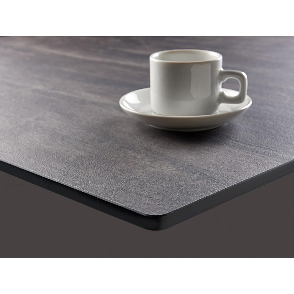 Plateau de table de bar restaurant Compactop en stratifié compact HPL (starif -> Plateau De Table Occasion Lave