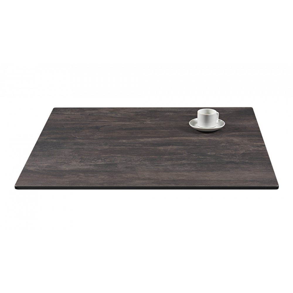 Plateau de table de bar restaurant compactop en stratifi - Plateau de table stratifie ...