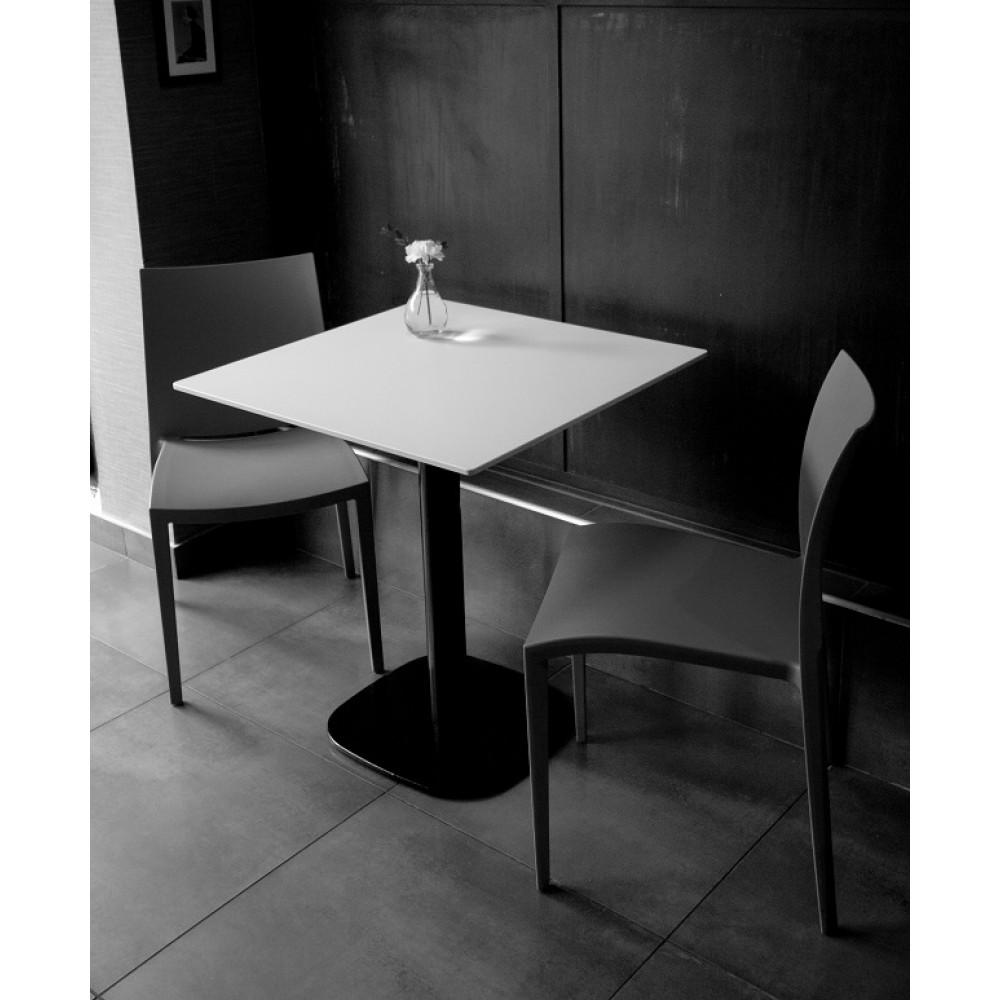 plateau de table 754 paradis blanc dans la masse plateaux de table en stratifi compact. Black Bedroom Furniture Sets. Home Design Ideas